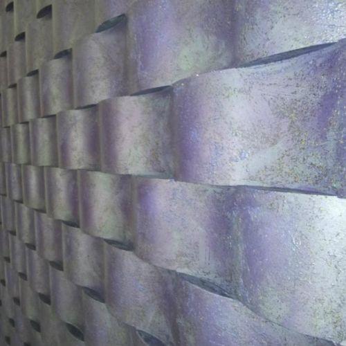 panele 3d fioletowe