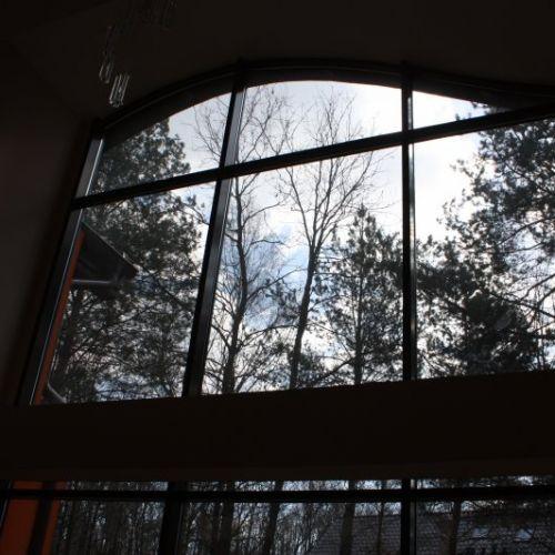 ściana okienna